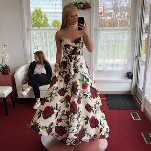 Sherri Hill floral dress #50826